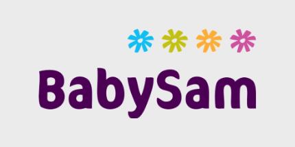Babysam Tilbud Logo singles day og black friday
